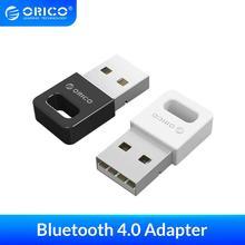ORICO 미니 무선 USB 블루투스 어댑터 4.0 동글 음악 사운드 수신기 어댑터 Windows XP Vista 7/8/10 컴퓨터 마우스