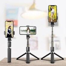 Tripod Selfie-Stick Photo-Holder Phone Remote-Control Live Bluetooth for Artifact-Rod