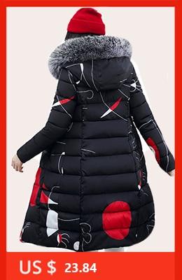 H25e45c388cd4434cbbfd75b9451346e5m 2019 women winter hooded warm coat slim plus size candy color cotton padded basic jacket female medium-long  jaqueta feminina