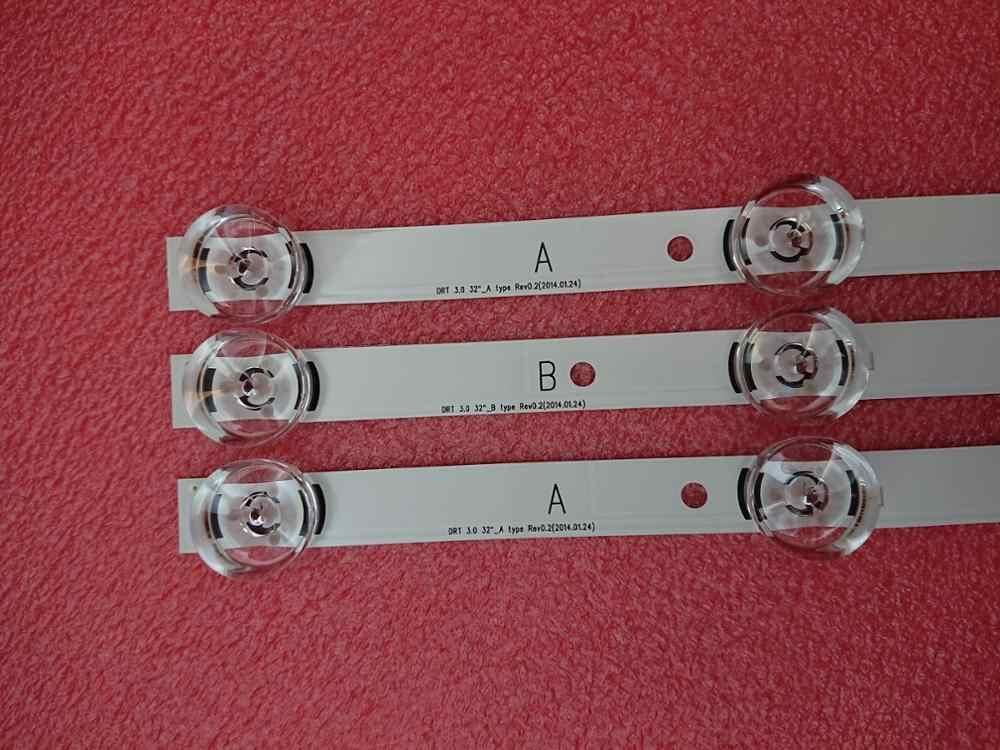 Nouveau 3 pièces LED bande de rétro-éclairage pour LG 32LB 32LF 32LB5610 LGIT Un B 6916l-1974A 1975A UOT_A B 6916L-2224A 2223A innotek drt 3.0 32