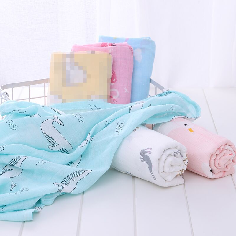 Bamboo Baby Blanket Baby Swaddle Baby Bedding Swaddle Bath Towel Bamboo Cotton Blanket For Newborn