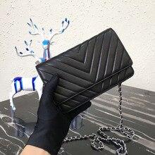 luxury handbags women lambskin chevron designer purse top quality mini crossbody