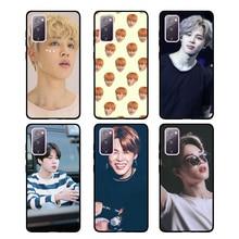 Park Jimin For Samsung S20 FE S10e S8 S9 Plus S10 Lite Case For Galaxy Note 20 Ultra