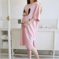 maternity nursing nightwear for pregnant women nightdress breastfeeding nightgown pregnancy sleepwear Sleeping dress