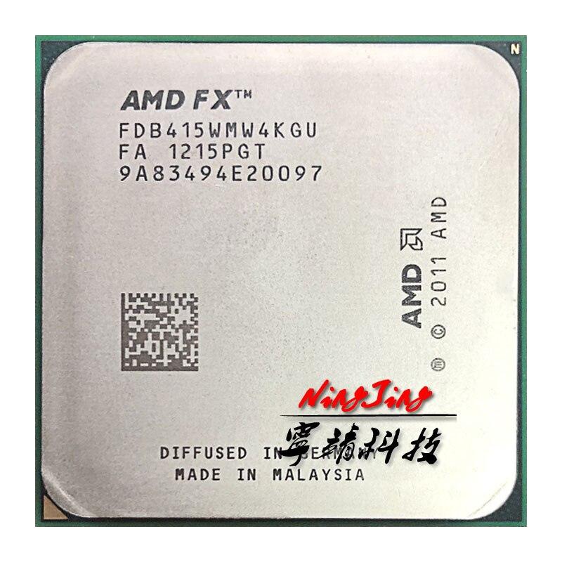 AMD FX Series FX B4150 FX B4150 3.8 GHz Quad Core Quad Thread CPU Processor FDB415WMW4KGU Socket AM3+ Better than FX 4100 4130 CPUs     - title=