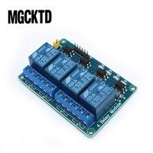10 chiếc Module Relay 4 kênh Relay 4 kênh điều khiển bảng optocoupler. Tiếp Đầu Ra 4 Module Relay cho Arduino