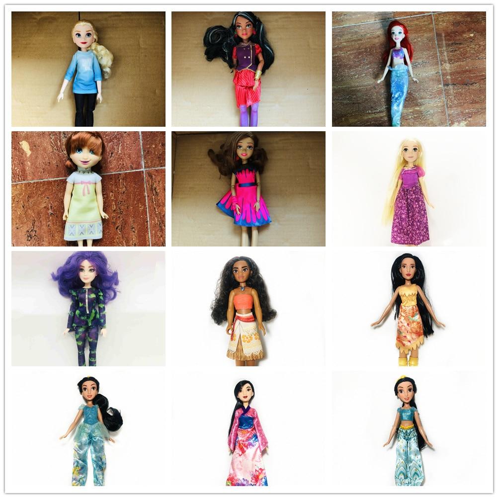 Оригинальные куклы Evie с белыми волосами для девочек, 28 см, маленькая принцесса с синими волосами, игрушка, красивая кукла, рождественский по...