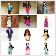 28cm original meninas cabelo branco mal princesa azul cabelo evie bonecas brinquedo bonito boneca presente de natal