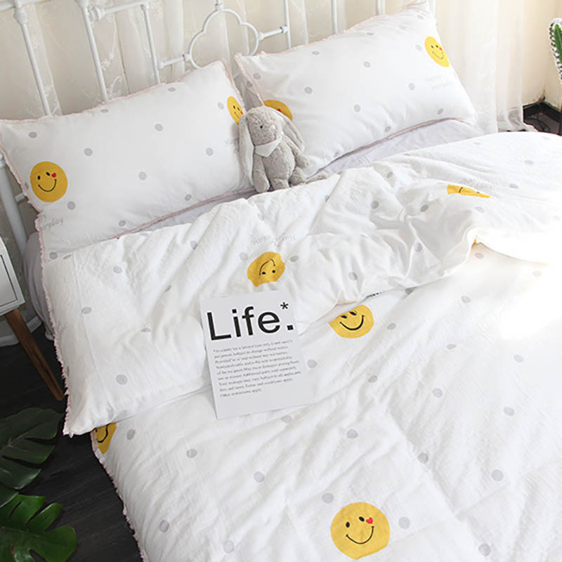 3pcs/<font><b>set</b></font> <font><b>Baby</b></font> <font><b>Set</b></font> Cotton Crib <font><b>Bedding</b></font> Sheet Duvet Cover Toddler Bed Pillowcase Cartoon Printing kids Bedclothes BXX037 image