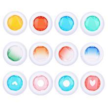 3 세트 컬러 필터 후지 필름 인스 팩스 미니 9 미니 8 7 s 키티 인스턴트 슈팅 카메라 선물 세트 핑크에 대한 렌즈를 닫습니다