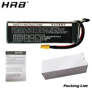 Image 5 - HRB 3S 4S 4000mah Lipo Battery 14.8V 7.4V 11.1V Deans XT60 T 5S 6S 2S 22.2V 18.5V 1S RC FPV Airplanes Drone Truck Car 60C Parts