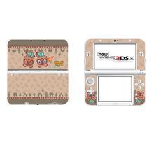 Adesivo per animali Full Cover Decal Skin per Nintendo NEW 3DS XL Sticker per NEW 3DS LL 3DSLL adesivi per pelli protettive in vinile