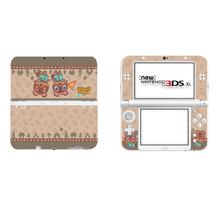 Animal Crossing Full Cover Decal Skin for Nintendo NEW 3DS XL Sticker for NEW 3DS LL 3DSLL Vinyl Protector Skins Stickers
