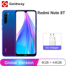 "Version mondiale Xiaomi Redmi Note 8 T 8 T 4GB 64GB Smartphone NFC 48MP Quad caméras Snapdragon 665 Octa Core 6.3 ""4000mAh batterie(Hong Kong,China)"
