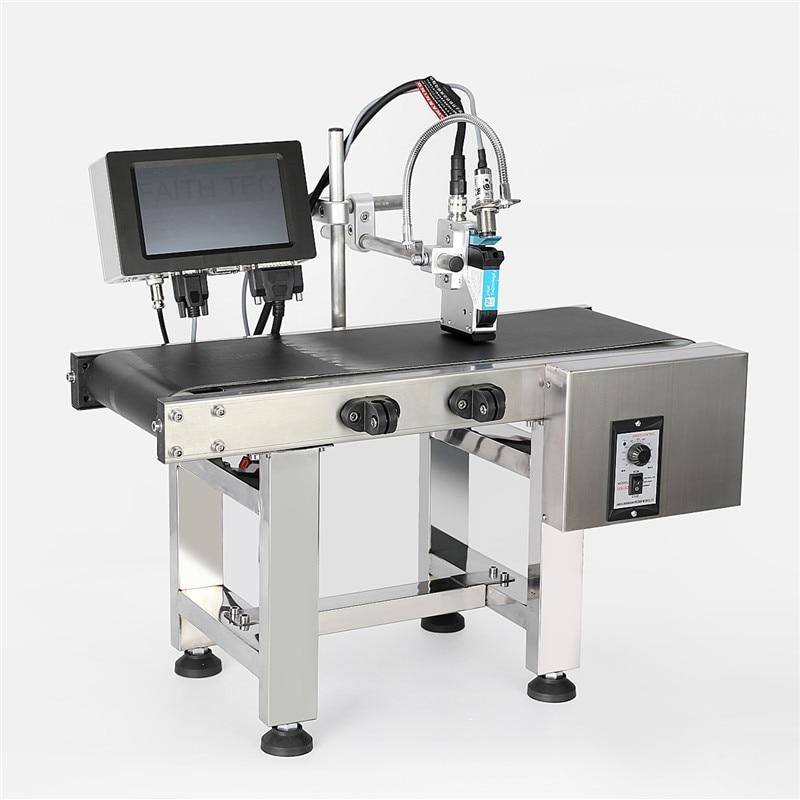 Вера Автоматическая маркировочная машина онлайн 40 языков цифровой струйный принтер Термальность струйный принтер Тидж струйный принтер с ...