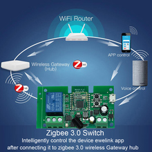 DC 7 32v Ewelink ZigBee ממסר מודול שלט רחוק מתג אור עבודה עם Alexa Google בית Sonoff/tuya חכם רכזת Gateway Bridg
