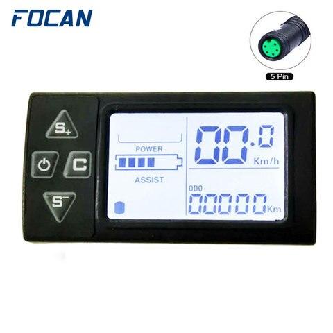 24 v 36 v 48 v display lcd ebike para electric bike bldc controlador do