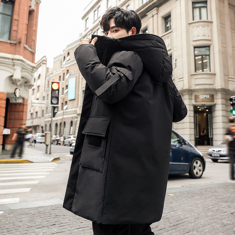 -40 Degree Cold Winter   Down   Jacket Men Plus Size Thick Warm Long Parka 90% White Duck   Down     Coat   Men Winter Casual Mens Overcoat