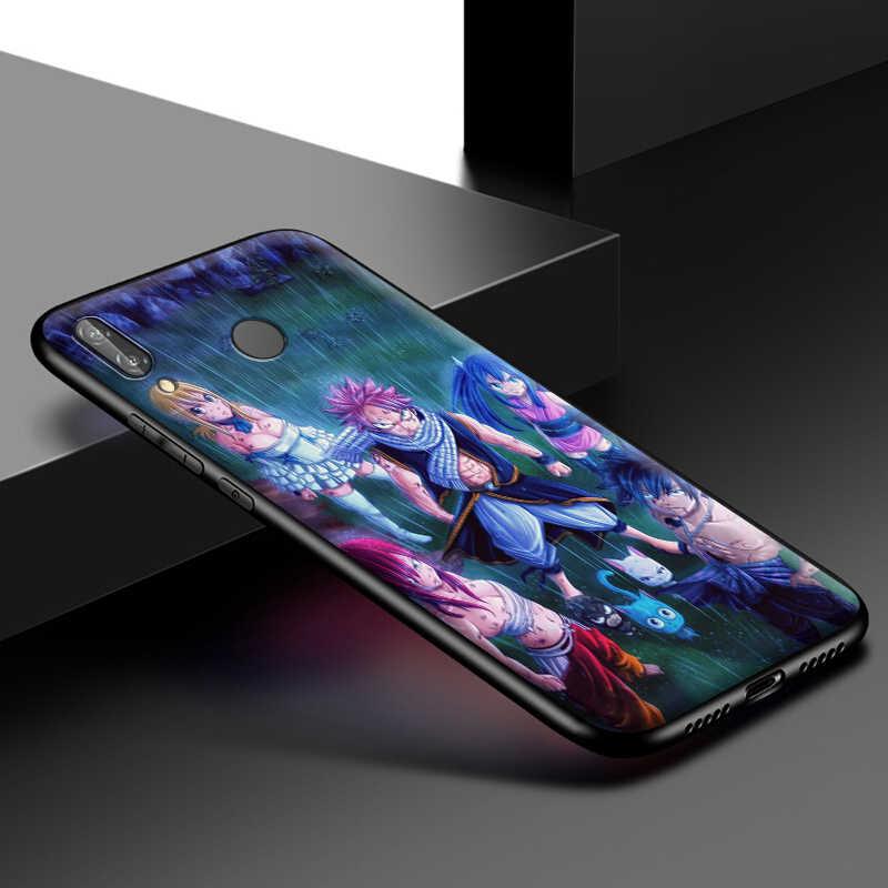 Fairy Tail Silikon Case untuk Huawei P40 Max P30 P20 P10 Pro Lite P Smart Z 2019