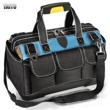 TAITU MultiFunction Tool Bag Multi-Pocket Waterproof Anti-Fall Storage Toolkit 1680D Oxford Cloth Wear-Resistant Electrician Bag