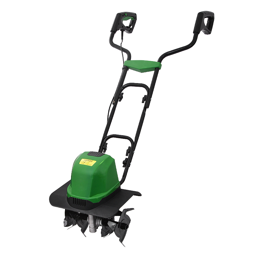 TLEG-01A Mini Tiller Electric Plough Machine Cultivator nbsp Scarifier Garden Household Soil Ploughing Digging Loosening Equipment