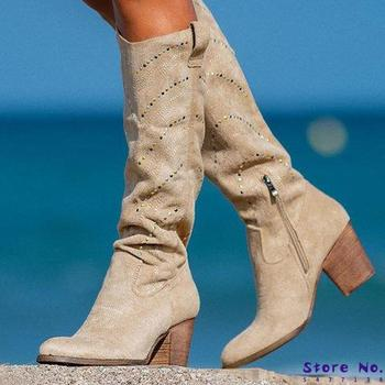 women knee high boots chaussure booties gladiator gladiator high heels shiny crystal deco shoes woman zapatos mujer sapato H495 women knee high boots ladies chaussure gladiator booties winter autumn high heels slip on shoes woman zapatos mujer sapato h341