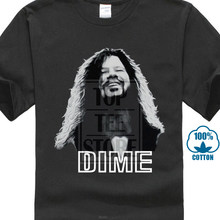Dimebag Darrel Mens T Shirt blanco estilizado imagen de la Pantera Legend negro camiseta Anime blanco(China)