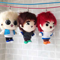 15cm/19cm Korea Plush Dolls Stuffed Toy Present PP Cotton Cartoon Plush Dolls Fans Gift Baby Toys Doll Fans Collection Gifts