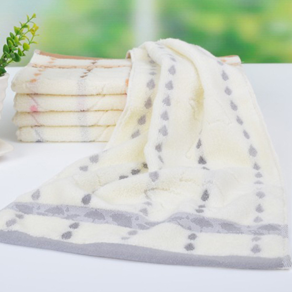 Ouneed Towel Super Absorbent Soft Washcloth The Bath Pure Cotton Siege Back Word Bath Towel Face