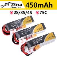 Batteria ricaricabile ACE Tattu LiPo 2S 3S 4s 450mAh 75C 1P per RC FPV Racing Drone Quadcopter