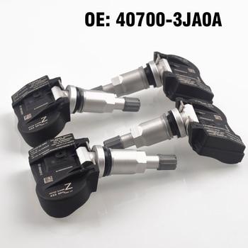 4 PCS Car Tire Pressure Monitor Sensor TPMS 407003JA0A 407003JA0B for Nissan maxima altima murano pathfinder for nifiniti JX35