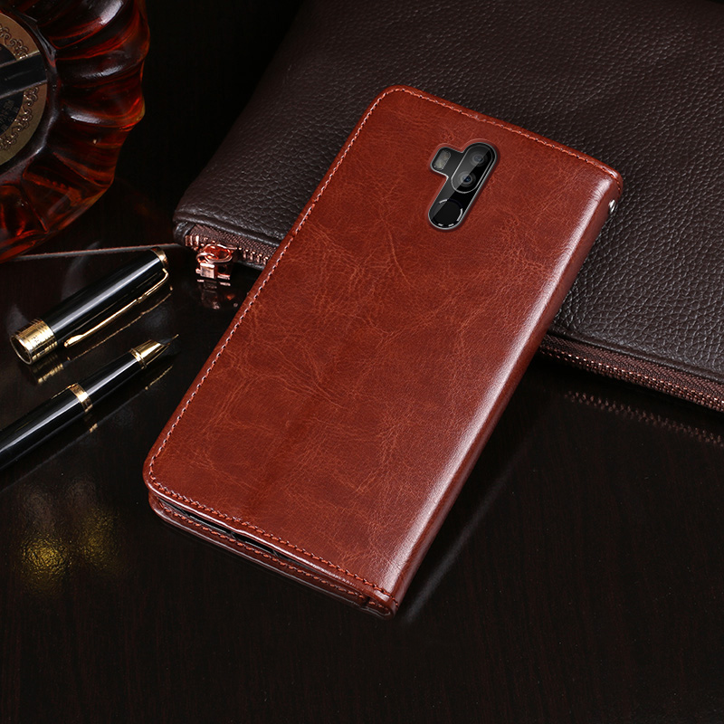 For Oukitel K9 Case Wallet Flip Business Leather Capa Phone Case for Oukitel K9 Cover Fundas with Card Holder Accessories(China)