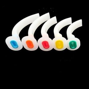 Image 3 - 15pcs Anestesia Guedel Airway Tubo Medico Orale di Senso di Aria di Colore Codificato Stabilire una delle vie respiratorie per CPR i pazienti di emergenza