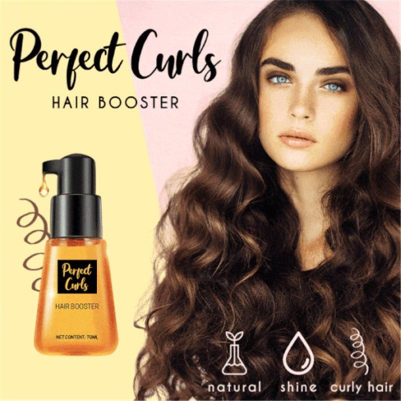 Perfect Curls Hair Booster Keratin Complex Oil Smooth Silky Hair Mask Repair Damaged Hair Serum Moroccan Oil Anti Hair Loss 1