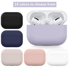 Liquid Soft Silicone Cases For Apple airpods Pro case Protective Bluetooth Wireless Earphone Cover For airpods 3 Charging cases