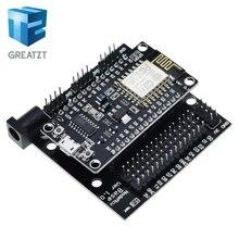 GREATZT NodeMcu צומת MCU בסיס ESP8266 בדיקות DIY טיפוס יסודות Tester מתאים NodeMcu V3