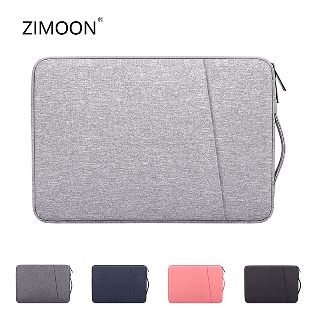 Double Layer Laptop Bag Side Carry Notebook Bag 13/14/15 Inch Macbook Case Computer Bag Briefcase Handbag For HP AUSU DELL