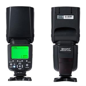 Image 5 - Triopo TR 982III TR 982 III Flash Speedlite HSS Multi LCD Wireless Master Slave Mode Flash Light For CANON NIKON DSLR Camera