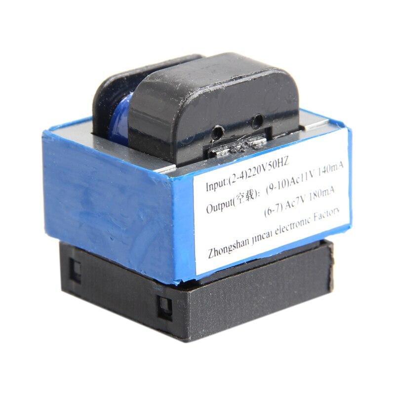 AC 220V To 11V/7V 140mA/180mA 7-pin Microwave Oven Power Transformer