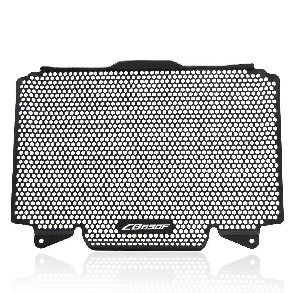 Accessoires moto cadres en Aluminium radiateur garde protecteur radiateur Grille garde couvercle pour Honda cb650f CB650F 2014-2016