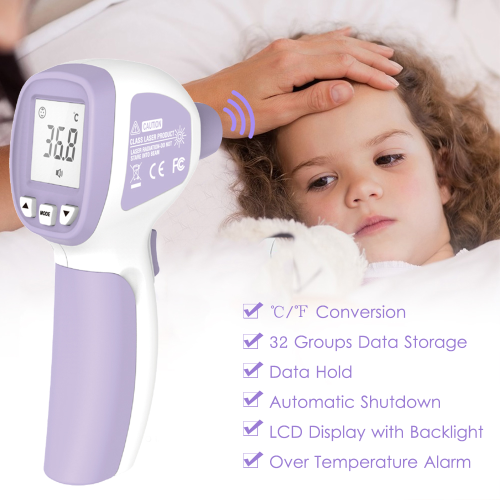 Digital Infrared Termometro Non Contact IR Temperature Meter Hygrometer Sensor Humidity Thermometer LCD Temperature Gun|Temperature Instruments|   - AliExpress