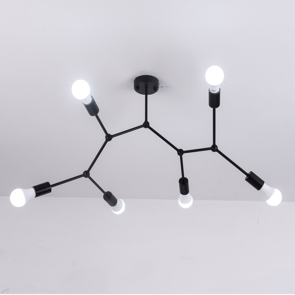 Modern LED Ceiling Chandelier Lighting Living Room Bedroom Molecular Chandeliers Multiple heads Creative Home Lighting Fixtures