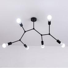 Moderne LED Decke Kronleuchter Beleuchtung Wohnzimmer Schlafzimmer Molekulare Kronleuchter Mehrere köpfe Kreative Hause Leuchten