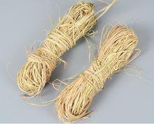 1 шт/50 г натуральная рафия сухая соломенная бумажная подарочная