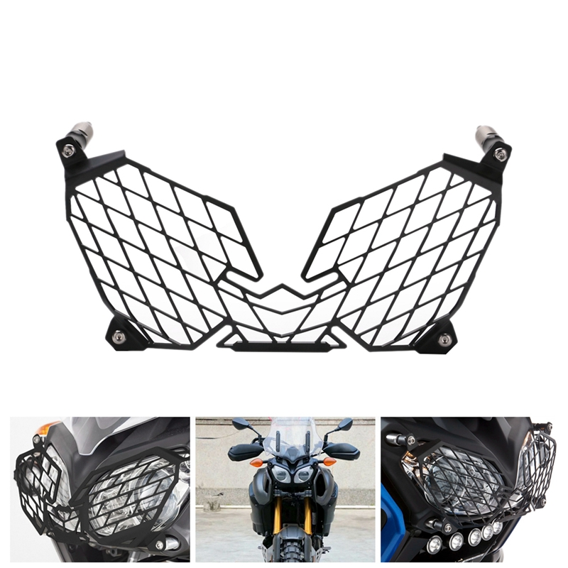 for YAMAHA XT1200Z XT 1200 Z Super Tenere 2010-2018 Motorcycle Modification Headlight Grille Guard Cover Protector 2