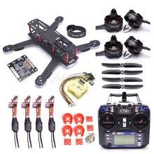 QAV250 250mm 250 Quadcopter Frame CC3D EVO Controller 2204 2300kv Motor 12A Simonk ESC Flysky I6 FS i6 for RC FPV Racing Drone