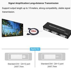 Image 5 - Splitter DVI Wiistar 1X2 DVI D Distribuidor 1 Em 2 Fora 1920x1440 para projetor monitor de computador gráficos cartão