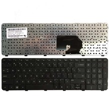 US Black laptop Keyboard for HP Pavilion DV7 6100 DV7 6000 DV7 6200 DV7 6152er 60945 257 English keyboard with frame