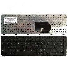 US Schwarz laptop Tastatur für HP Pavilion DV7 6100 DV7 6000 DV7 6200 DV7 6152er 60945 257 Englisch tastatur mit rahmen
