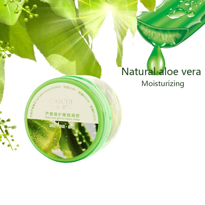 Pure Natural Aloe Vera Gel Suave Tratamento Da Acne Creme Para o Rosto Cuidados Com A Pele Hidratante Oil-Controle Hidratante Reparação Depois do Sol